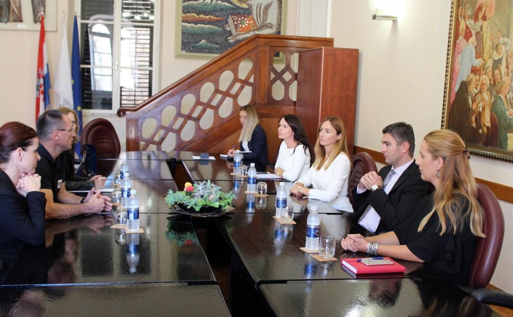 Ravnatelj Državne uprave za zaštitu i spašavanje na sastanku kod gradonačelnika